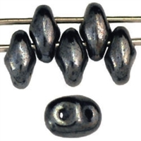 SuperDuo 2/5mm : 8 Grams - Hematite