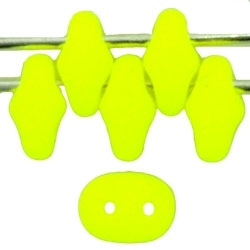 SuperDuo 2/5mm : 8 Grams - TSD-25121 Neon Yellow