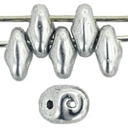 SuperDuo 2/5mm : 8 Grams - Silver