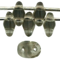 SuperDuo 2/5mm : 8 Grams - Black Diamond