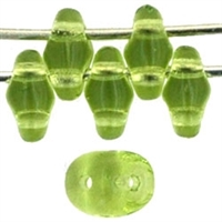 SuperDuo 2/5mm : 8 Grams - Olivine