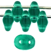 SuperDuo 2/5mm : 8 Grams - Emerald