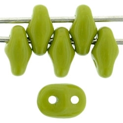 SuperDuo 2/5mm : 8 Grams - Opaque Olive