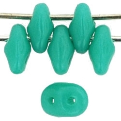 SuperDuo 2/5mm : 8 Grams - Turquoise