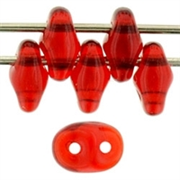 SuperDuo 2/5mm : 8 Grams - TSD-9008 Siam Ruby