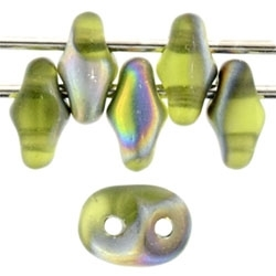 SuperDuo 2/5mm : 8 Grams - TSD-MV5023 - Matte Olivine - Vitrail