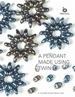 Twin Bead Free Patterns - Pendant