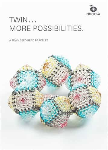 Twin Bead Free Patterns - Sewn Bracelet