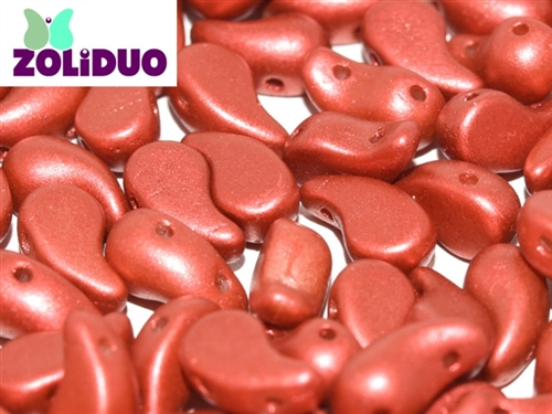 ZoliDuo-K0189-L - ZoliDuo 5x8mm - Lava Red - Left Version - 12 count