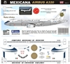 1:144 Mexicana (retro cs) Airbus A.320