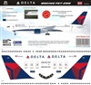 1:144 Delta Airlines (2007 cs) Boeing 757-200