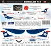 1:144 AeroMexico Connect Embraer 145
