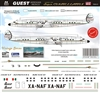 1:144 Guest Aerovias Mexico Lockheed 1049G Super Constellation