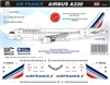 1:144 Air France (2009 cs) Airbus A.320