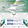 1:144 Cathay Pacific 'OneWorld' Airbus A.340-300