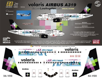 "1:144 Volaris Airbus A.319 ""Los Angeles"""