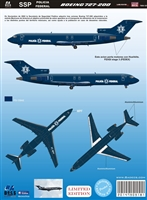 1:144 Policia Federal Preventiva Boeing 727-200 *Sold Out*