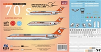 1:144 AeroMexico (1970's) Douglas DC-9-15 / -30 *Sold Out*