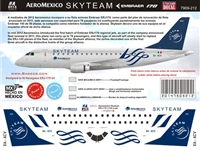 1:144 AeroMexico Connect 'Skyteam' Embraer 170 *Sold Out*