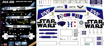 "1:144 All Nippon Airways Boeing 787-9 ""R2D2"""