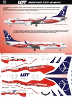 1:144 LOT Polish 'Independence' Boeing 737-MAX8