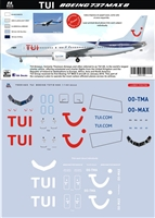 1:144 TUIfly Boeing 737-MAX8