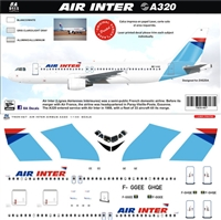 1:144 Air Inter Airbus A.320