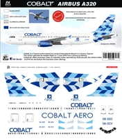 1:144 Cobalt Airlines Airbus A.320