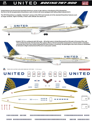 1:144 United Airlines Boeing 787-9