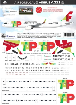 1:144 TAP Portugal Airbus A.321 (CEO & NEO)