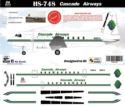 1:144 Cascade Airways HS.748