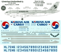 1:144 Korean Air Airbus A.300B