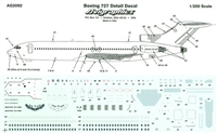 1:200 Windows & Details, Boeing 727's
