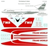 1:144 Trans World Airlines Boeing 747-100/200B