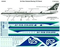 1:144 Air New Zealand Boeing 747-400