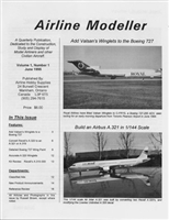 Airline Modeller Vol 1 No.1, Issue 1
