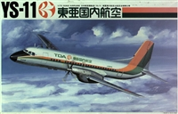 1:72 Namc YS-11A, TOA Domestic