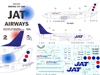 1:144 JAT Airways Boeing 737-400
