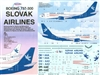 1:144 Slovak Airlines Boeing 737-300