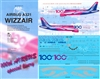 1:144 Wizz Air Airbus A.321 '100th Airbus'