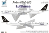 1:144 Airbus A.340-600 Conversion, Lufthansa 'Star'