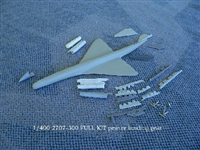 1:400 Boeing 2707-300 SST Kit (no decal)