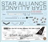 1:100 Air Canada 'Star Alliance' Boeing 767-200