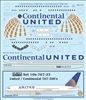 1:100 United / Continental Boeing 767-200