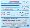 1:100 Piedmont (metal blue cs) Boeing 767-200