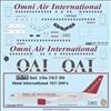1:100 Omni Air International Boeing 767-224ER