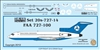 1:200 Federal Aviation Administration Boeing 727-100