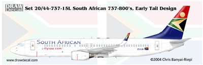 1:200 South African Boeing 737-800