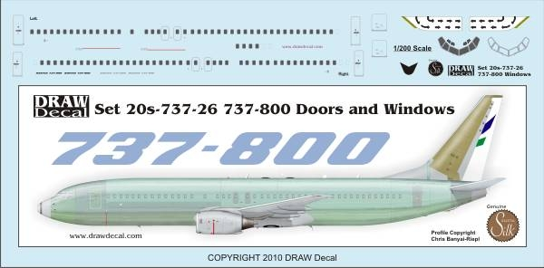 1 200 Boeing 737 800 Doors And Windows