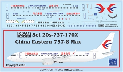 1:200 China Eastern Boeing 737-MAX8